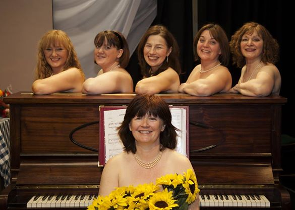 ShowBoaters Calendar Girls